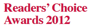 Readers choice awards 2012